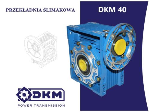 Przekładnia ślimakowa DKM 040 i80 63B14 (11/90) DØ18