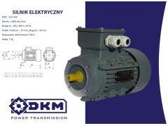Silnik elektryczny 3 fazowy OMT4 71 1-4 0,37kW 1400  B14 (14/105) + łapy