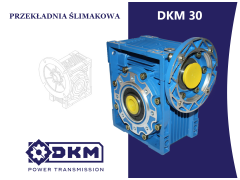 Przekładnia ślimakowa DKM 030 i50 56B14 (9/80) DØ14
